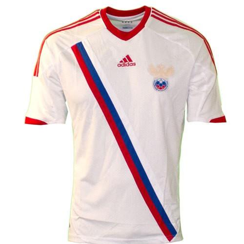 Russia away jersey 2012
