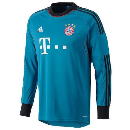FC Bayern goalie jersey long sleeve 2013/14