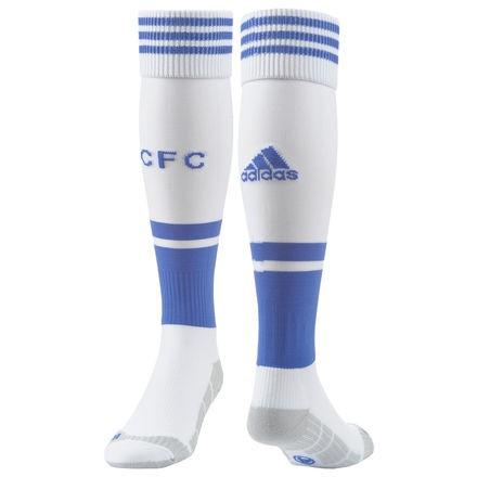 Chelsea FC hjemme strømper 2013/14 - hvid