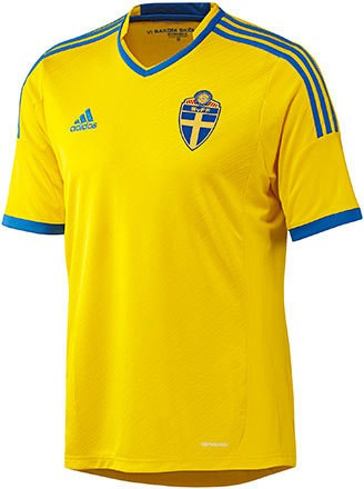 Sweden home jersey 2013