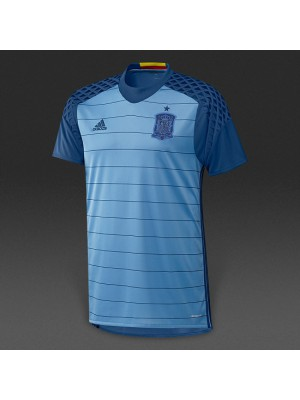 Spain home goalie jersey EURO 2016