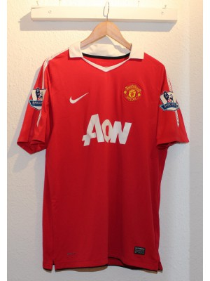 Manchester United home jersey 2010/11