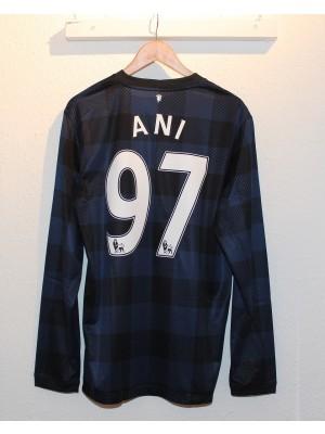 Manchester United ude trøje L/Æ 2013/14 - Ani 97