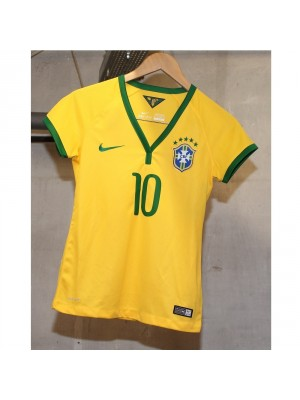 Brazil home jersey 2014 - Neymar 10 - womens