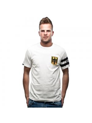 Copa Tyskland Spielführer t-shirt - hvid