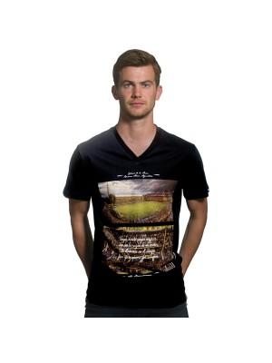 La Bombonera v-hals t-shirt - sort