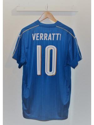 Italy home jersey back - Verratti 10