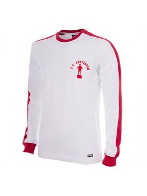 F.C. Amsterdam 1976/77 Long Sleeve Retro Football Shirt 100% cotton