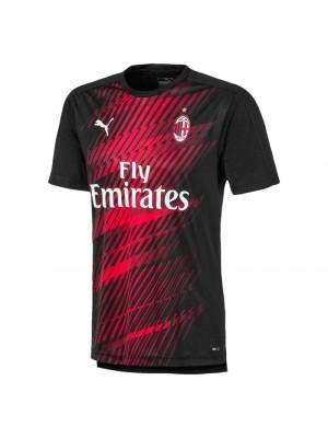 AC Milan training top - black gold