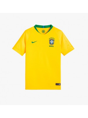 Brazil home jersey World Cup 2018 - youth