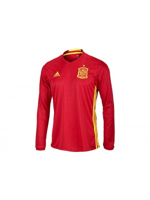 Spain home jersey L/S EURO 2016