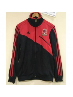 AC Milan track top - black red
