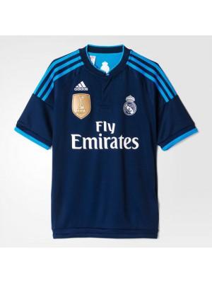 Real Madrid 3. trøje 2015/16 - børn - WCC badge