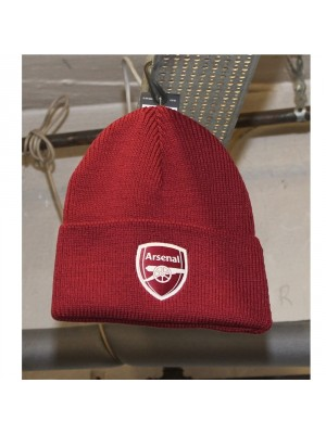 Man Utd woolie hat in red