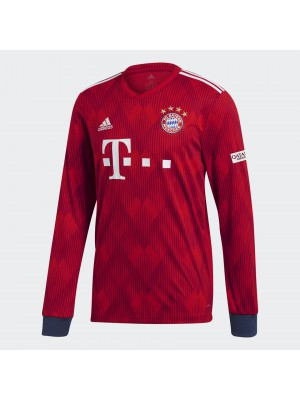 Bayern home jersey Long Sleeve