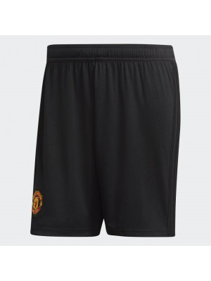 Man Utd home shorts - black
