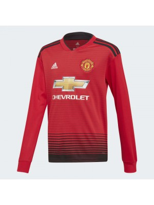 Man Utd home jersey Long Sleeve - youth