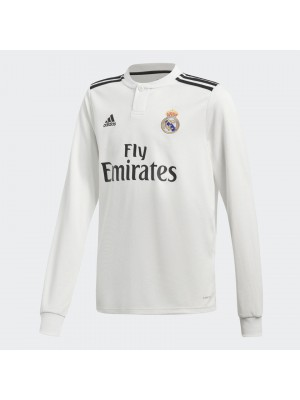 Real Madrid home jersey Long Sleeve - boys