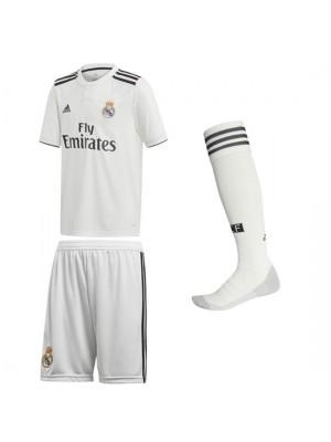 Real Madrid home kit 2018/19 - La Liga - youth