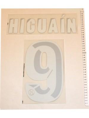 Napoli hjemme tryk 2013/14 - Higuain 9
