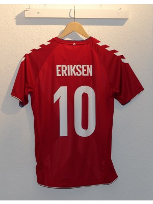 Denmark home jersey WC2018 - boys - Eriksen 10