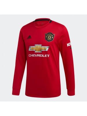 Man Utd home jersey Long Sleeve - mens