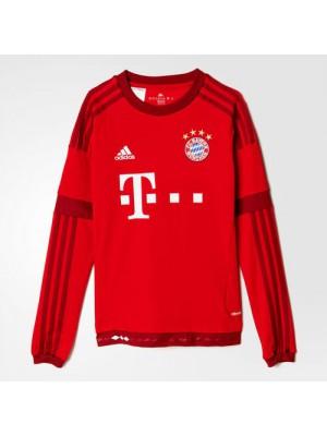 FC Bayern hjemme trøje Lange-Ærmer 2015/16 - børn