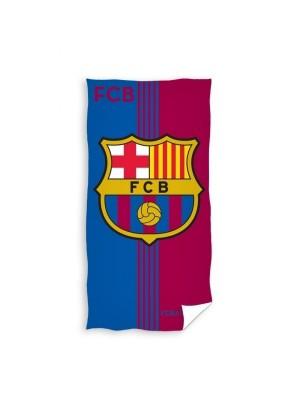 Fc Barcelona Towel 140X70 Nr