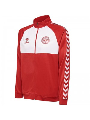 Denmark fan track top - red white