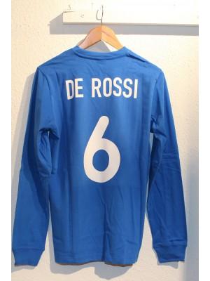 Italy retro shirt Long Sleeve - De Rossi 6