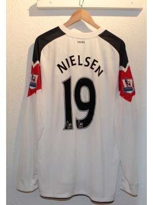 Manchester United ude trøje L/Æ 2010/11 - Nielsen 19