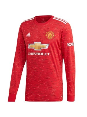Man Utd home jersey Long Sleeve - mens