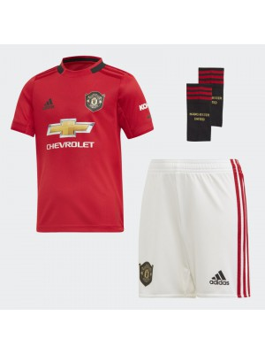 Man Utd home mini kit - little boys