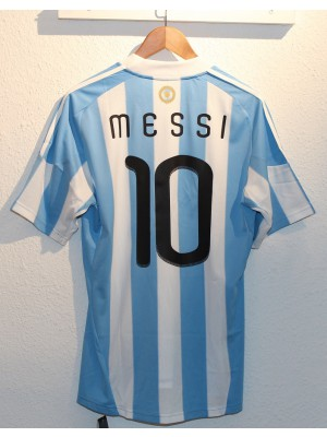 Argentina home jersey World Cup 2010 - Messi 10