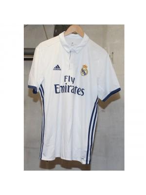 Real Madrid hjemme trøje 2016/17 - James 10 - skæv