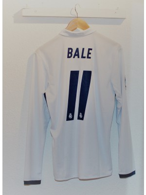 Real Madrid home jersey Long Sleeve - Bale 11