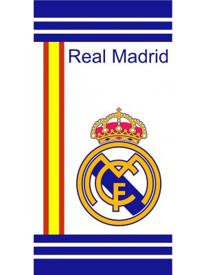 Real Madrid towel - white