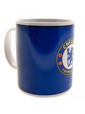 Chelsea FC mug dots