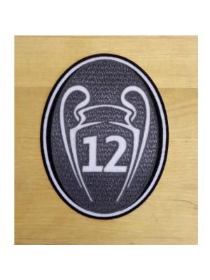 UEFA BoH 12 Cups Ærmemærke - voksen