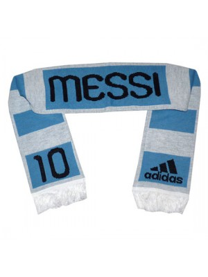 Argentina fan scarf Messi 10