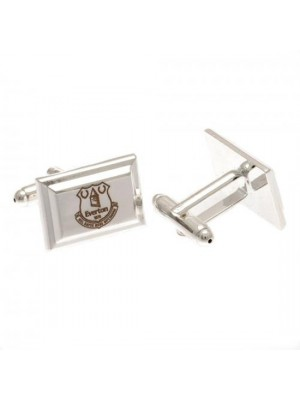 Everton FC Silver Plated Cufflinks