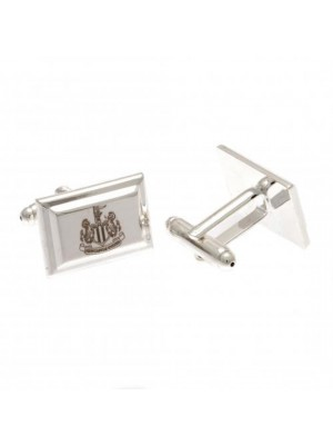 Newcastle United FC Silver Plated Cufflinks