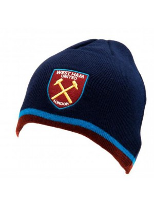 West Ham United FC Knitted Hat TP