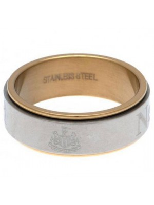 Newcastle United FC Bi Colour Spinner Ring XX-Large