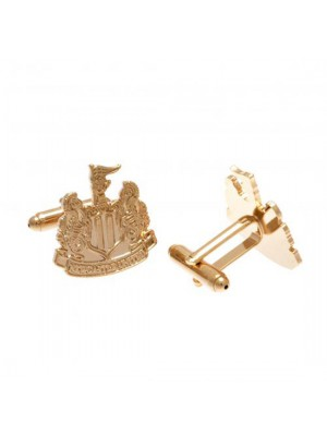 Newcastle United FC Gold Plated Cufflinks