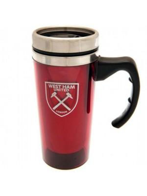 West Ham United FC Aluminium Travel Mug