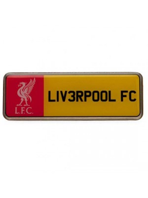 Liverpool FC Number Plate Badge