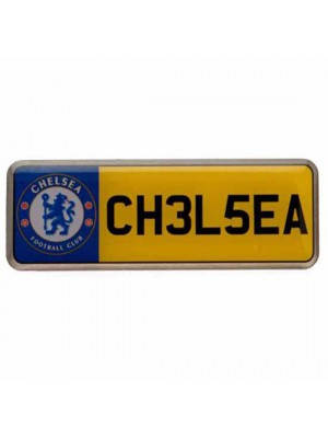 Chelsea FC Number Plate Badge