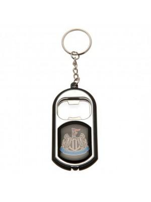 Newcastle United FC Key Ring Torch Bottle Opener