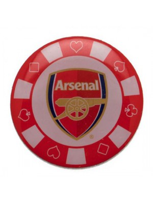 Arsenal FC Poker Chip Badge
